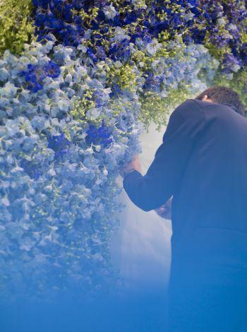 Un vague de fleurs